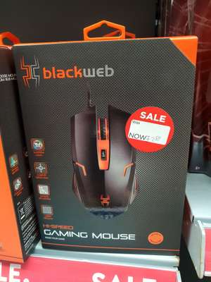 Blackweb Gaming Mouse - £2.50 instore @ ASDA (Broughton)