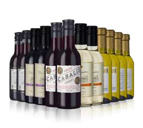 24 x 187ml (miniatures)  Bottles of Red/White Wine £24.57 (£1.03 each) delivered using code @Laithwaite's (Other deals in post/comments)