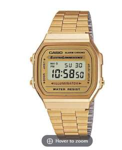 Casio Gold A168WG Classic Watch £25 @ 7dayshop