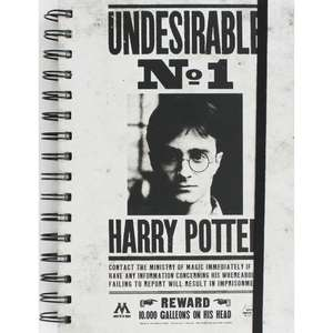 A5 Harry Potter Poster Notebook £2.50 from The Works and free click and collect.