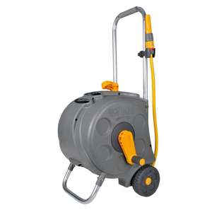 HOZELOCK COMPACT HOSE REEL & HOSE CART (L)30 M - £28 @ B&Q - Out of stock online / available instore