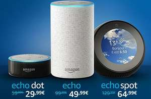 Amazon France half price echo products. Echo Dot for £26.38