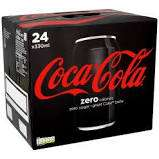 Diet Coke and Coke Zero 24 cans for £5.99 instore @ Iceland warehouse