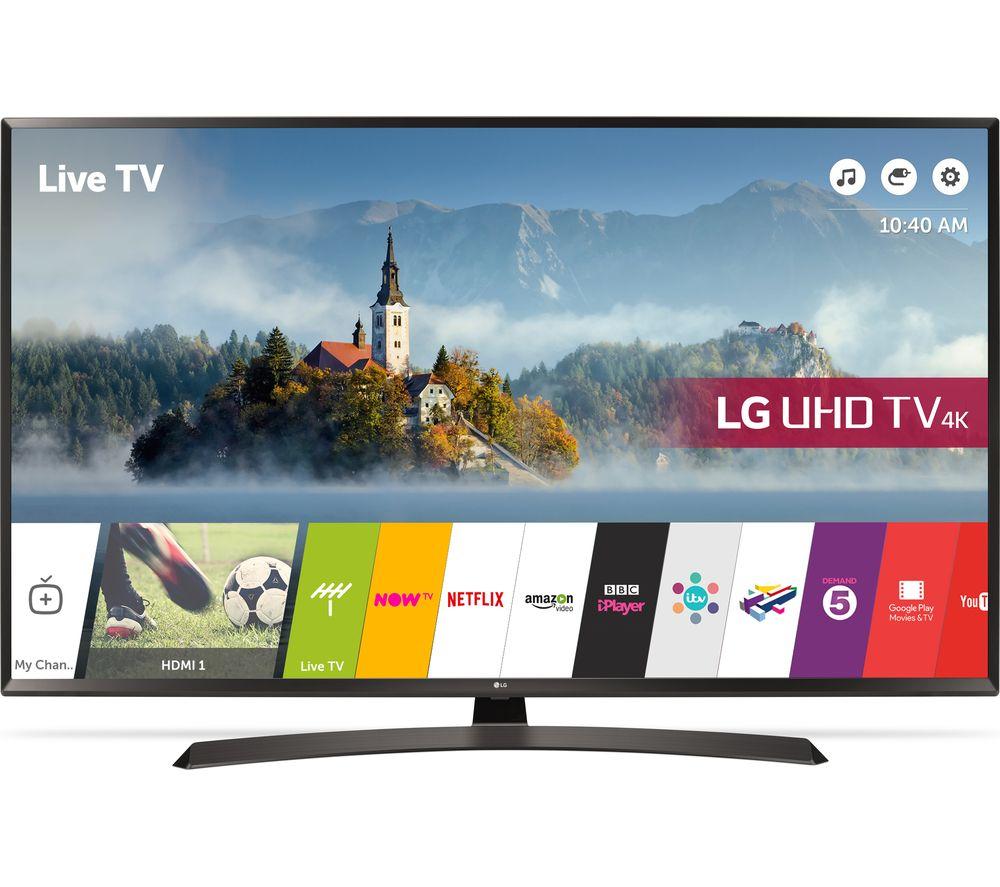 "LG 55UJ634V 55"" Smart 4K Ultra HD HDR LED TV - £479 @ Currys"