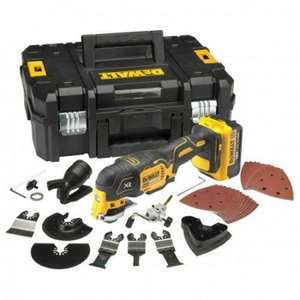 DeWalt DCS355M1 18V XR Brushless Multi-Tool with 35pc Accessory Kit, 1 x 4.0Ah Battery and Case @ Powertoolmate - £164.99