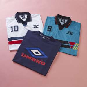 Umbro (online) 25% off clothing, boots, equipment and World Cup shirts