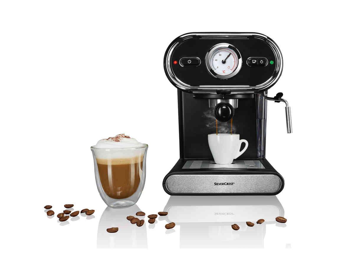 Silvercrest Espresso Machine @ Lidl - £49.99