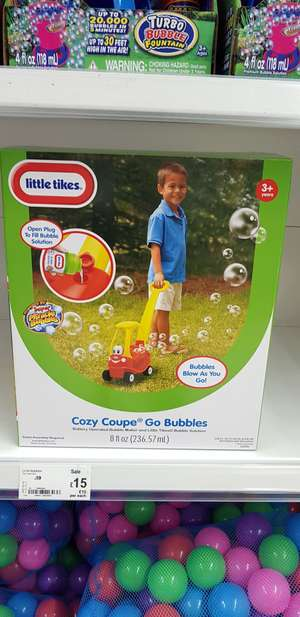 Little Tikes Cozy Coupe Go Bubble £15 @ ASDA