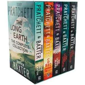 The Long Earth - 5 Book Collection £10  at The Works - free c&c