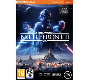 Star Wars Battlefront 2 for the PC £17.99 Argos