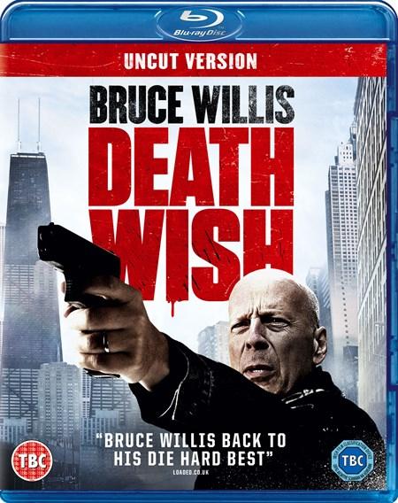 Death Wish Uncut Version (Bruce Willis) Blu Ray £9 @ Zoom