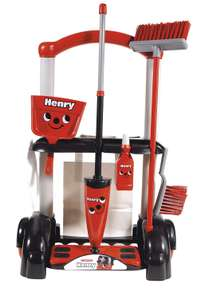 Casdon Henry Toy Cleaning Trolley £6.40 (Hetty version £6.90) -  Casdon Mini Toy Dyson Dc14 £8.20 (more in OP) @ Tesco Direct