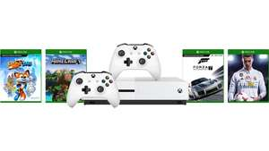 Xbox One 1TB + Extra controller + Sea of Thieves + Fifa 18 + Forza 7 + Minecraft + Super Luckys Tale £200 @ Microsoft Czech