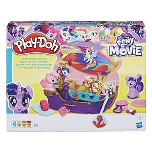Play-Doh My Little Pony The Movie Friendship Ahoy Pirate Ship was £15.97 now £5 C+C @ Asda George