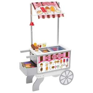Melissa and Doug Snacks and Sweets Food Cart £75 Tesco + 50% off Pretend Play & Fancy Dress