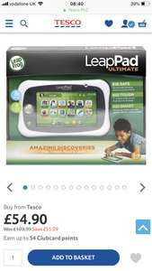 Leapfrog LeapPad ultimate (green) £54.90 Tesco