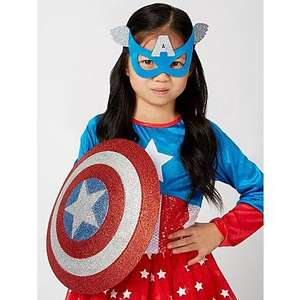 Girls Marvel Universe American Dream Girl Fancy Dress Costume £8 @ Asda