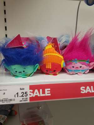 Trolls mini plush £1.25 instore @ asda