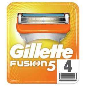 Gillette Fusion Manual Blades x 4, £11.79 buy1get1free at superdrug