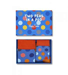 Fathers Day - 35% Off Full Price Items + Free Delivery with code @ Happy Socks eg 2 Peas in a Pod Set was £17.95 now £9.72 Delivered