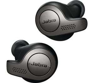 Jabra Elite 65t Wireless Bluetooth Earphones £125.96 FREE delivery with voucher code @ Currys eBay