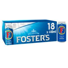 Foster's Lager 18x440ml Cans - £10 @ Asda