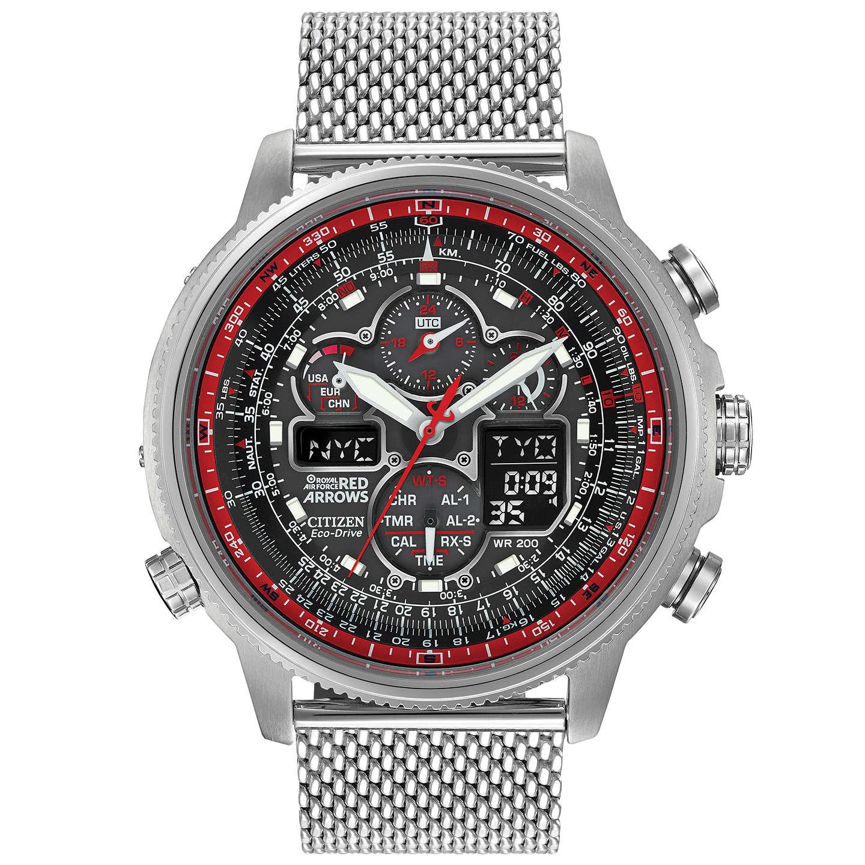 Citizen  Men's RAF Limited Edition Red Arrows Navihawk Watch, £285 at E Jones