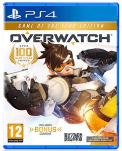 Overwatch GOTY - £17.99 GAME.co.uk