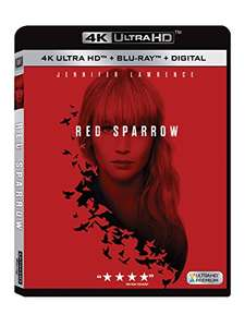 Red Sparrow 4k UHD Blu-ray - £15.51 delivered @ Amazon.com