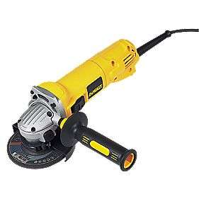 DeWalt 4.5inch angle grinder, 900W 110V £34.99 @ Screwfix