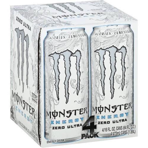 Monster Ultra 4 Pack - Original/Red @ Asda for £3
