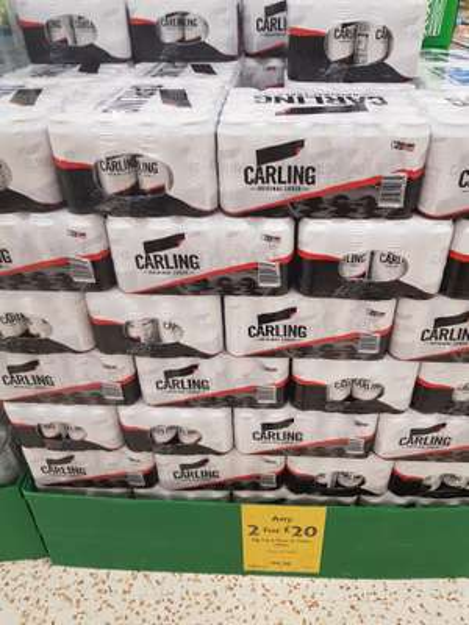 Buy 2 for £20 on big pack beer and cider @ Morrisons