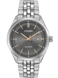 Citizen Eco-Drive Men's Stainless Steel Bracelet Watch, £100 @ H Samuel-with code