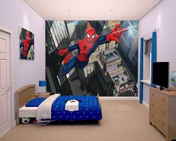 Walltastic Ultimate Spider-Man Wallpaper Mural 2.44m X 3.05m £9.99 Delivered @ Argos Ebay