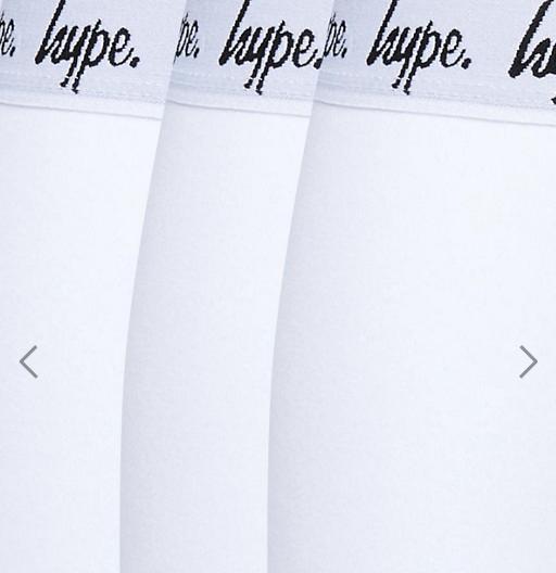Hype 3 Pack Trunks In White- £7.50 @ asos