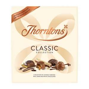 Thorntons Classic Collection chocolates 462g £2 (reduced from £5) at Poundland
