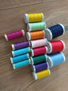 Hobbycraft Gütermann Thread all half price - from 97p for 100m. John Lewis also price matched.