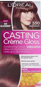 L'Oréal Casting Creme Gloss Hair Colour, Mahogany Pack of 3 only £6.79 Prime Exclusive @ Amazon