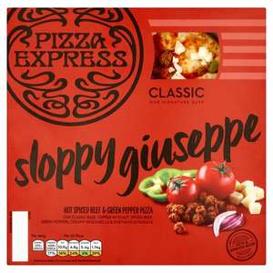 Pizza Express Pizzas 4 Varieties - varying from 250g to 305 , half price now £2.25 @ asda online & instore