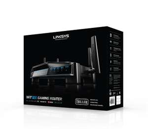 Linksys WRT32X-UK AC3200 Dual-Band Wi-Fi Gaming Router with Killer Prioritisation Engine £99.98 @ Amazon