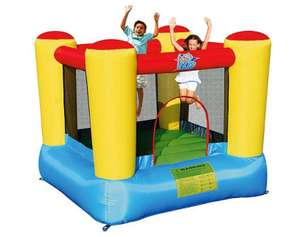 50% off  Bouncy Castles / Outdoor Play / Playhouses  e.g. Airflow Bouncy Castle £60 -  Crocodile Airflow Bouncy Castle £150 - Plum Rotating Seesaw £15 (see OP) @ Tesco Direct