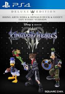 KINGDOM HEARTS III DELUXE EDITION + BRING ARTS FIGURES [PS4] £199.99 SQUARE ENIX