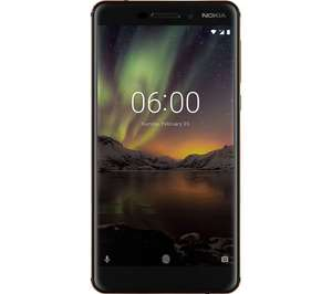 Nokia 6.1 (2018) @ Currys eBay using code prephome10 - £206.10