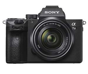 Sony ILCE7M3KB.CEC Full Frame Mirrorless Compact System Camera with SEL2870 Lens Kit - Black £2005.93 @ Amazon - Temp oos