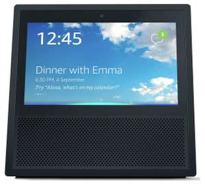 """2x Amazon Echo Show Smart Speaker with 7"""" Screen & Alexa Voice Recognition & Control  - £179.98 at john Lewis ( bundle offer)"""