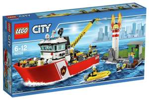 Lego City Fire Boat 60109 now £22.99 delivered @ eBay sold by Argos