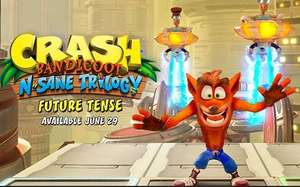 Crash Bandicoot new level! Future Tense, DLC releasing for PS4, Switch, PC and Xbox on 29th June.