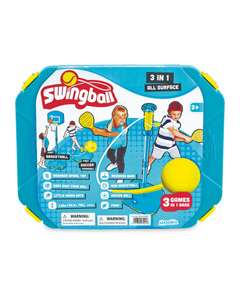 3 In 1 Swingball £24.99 from Aldi with free delivery
