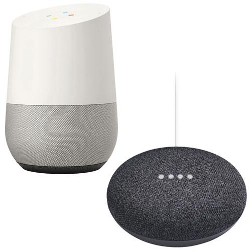 Google Home - Smart Speaker AND a Google Home Mini for £119 (Google Home £99) @ BT Shop