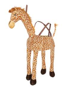 TRAVIS DESIGNS Ride On Giraffe Toy £10.00 (was £27.00) plus delivery £3.95/£3.50 Collect+/£2.00 collect from store at House of Fraser